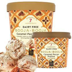 Booja Booja Caramel Pecan Praline Ice Cream 500ml
