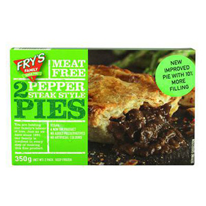 Fry's Pepper Steak-Style Pies 2 x 175g | The V Spot