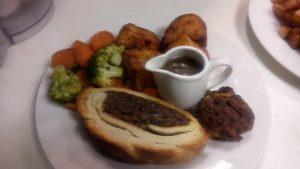 Mushroom & Chestnut Wellington