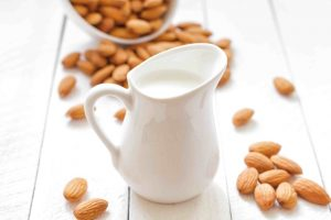 Picture of almond milk